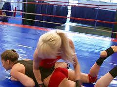 NudeFightClub presents Ashley vs Alexa Wildvideo