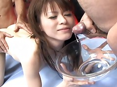 Hot Japanese slut Ai Himeno gets her Asian pussy deeply fucked by horny menvideo